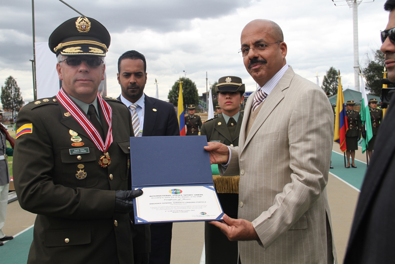 USIP Medal of Honor for Brig. General Londono