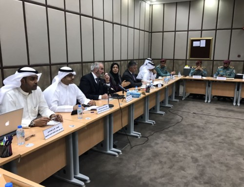 USIP technical meeting with UAE organization in Abu Dhabi