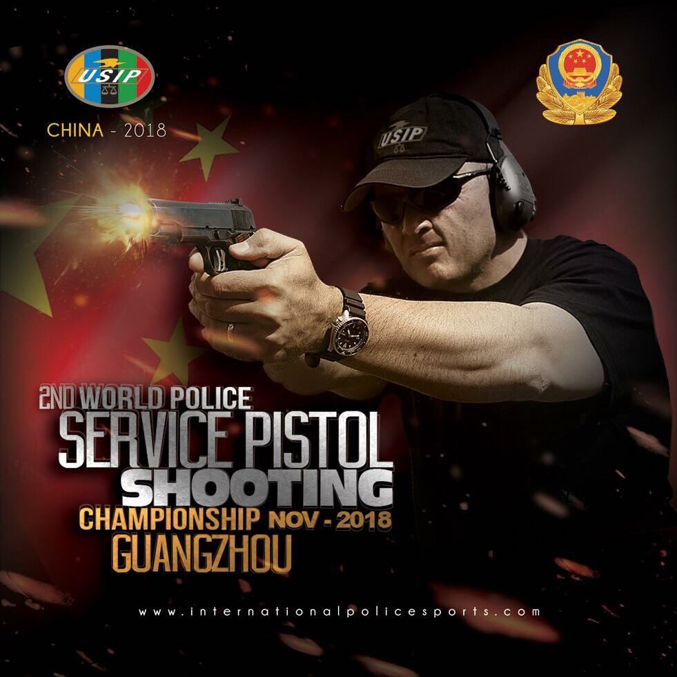 2nd World Police Service Pistoil Shooting Championship Guangzhou 2018