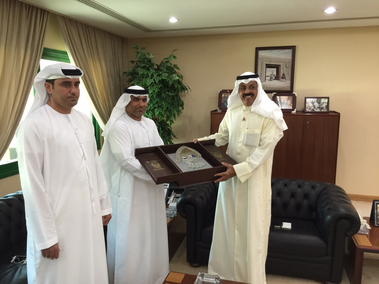 USIP-President-meets-UAE Police-Sport-President