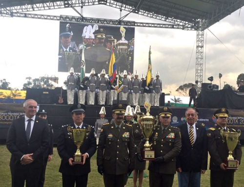Closing ceremony 1st USIP World Police Games Bogota