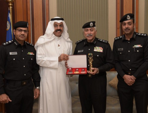 USIP President meets Undersecretary Minister of Interior of Kuwait