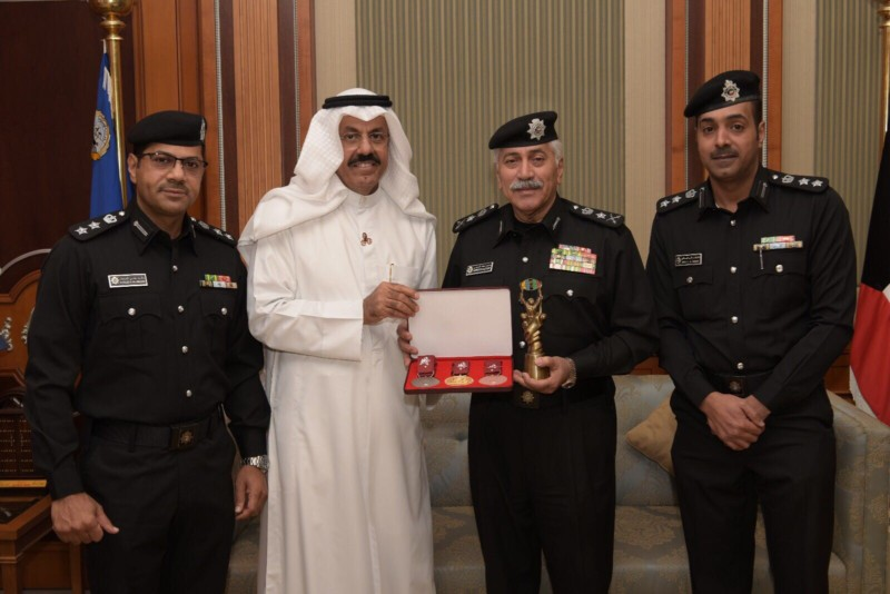 USIP President meets Undersecretary Minister of Interior of Kuwait 2017-11-28