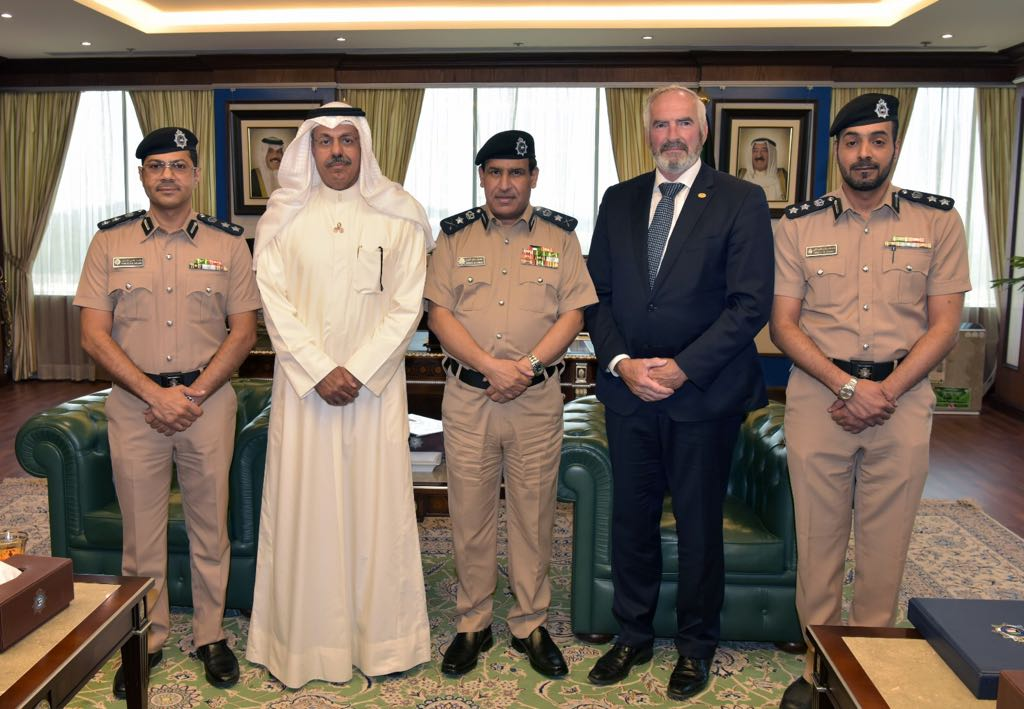 USIP delegation meets new appointed Undersecretary Minister of Interior of Kuwait