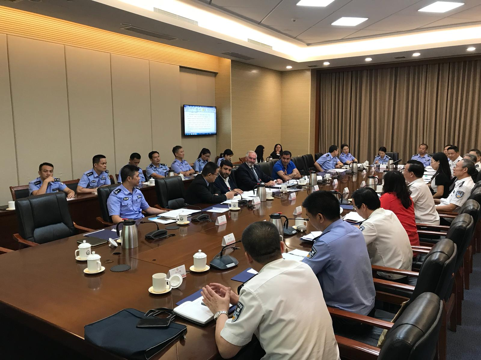 USIP TC meet Guangzhou WPPS organizer 2018