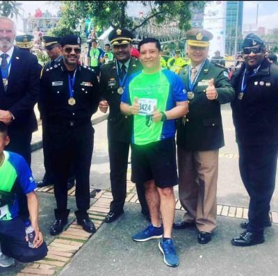 Policia 10K Colombia november 2018