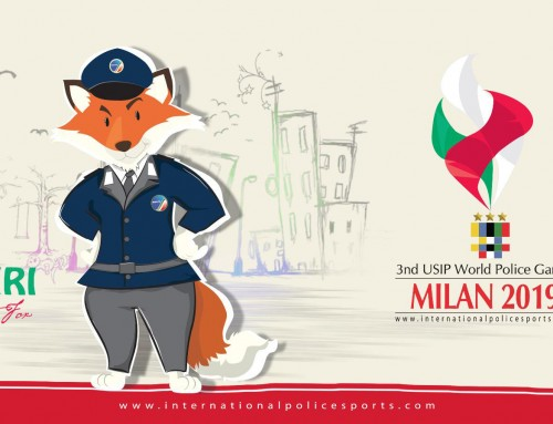 3rd USIP World Police Games choose their mascot Azziri