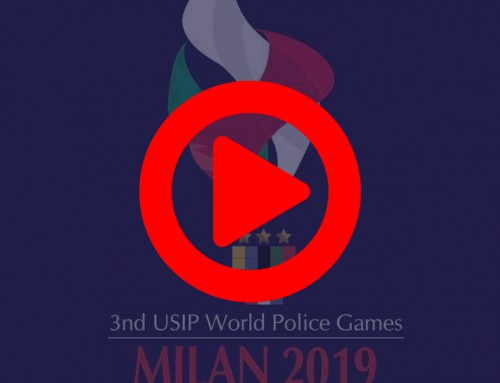 Highlight of the  3rd Usip World Police Games 2019 opening ceremony