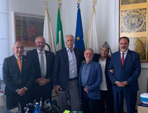 USIP and ASPMI held meetings in Rome with CONI and ACSI